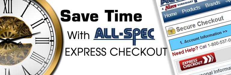 Complete Your Purchase in Half the Time with Express Checkout