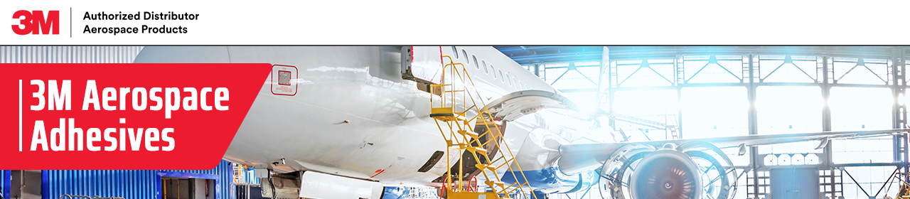 3M Aerospace Adhesives - Airplane in hanger