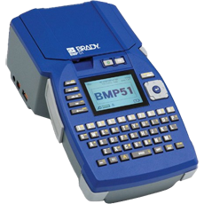 Product picture of the Brady BMP51 Label Maker