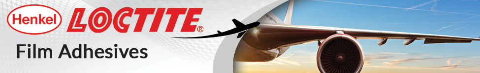 henkel banner with airplane wing