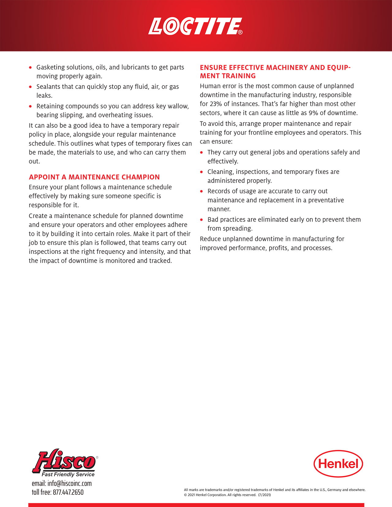 How to Reduce Unplanned Downtime with Effective Maintenance and Repairs p3