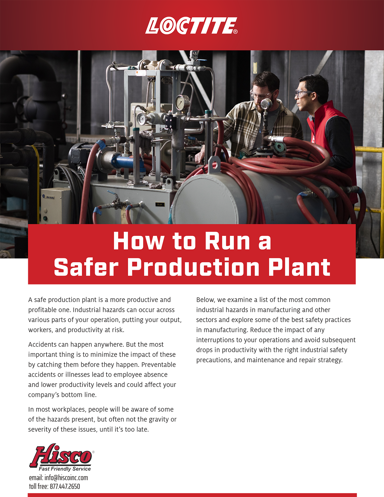 Run a Safer Production Plant
