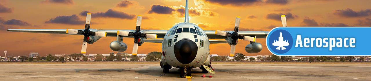 Hisco Aerospace - Plane preparing for take off