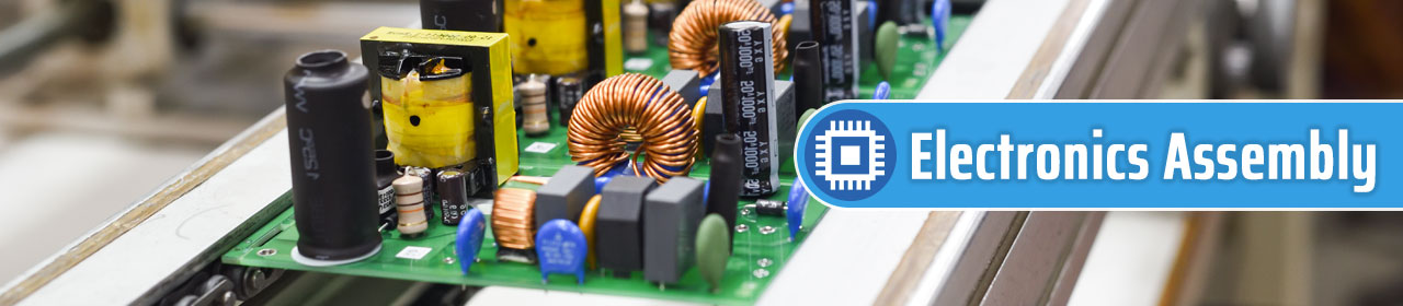 header with circuit boards