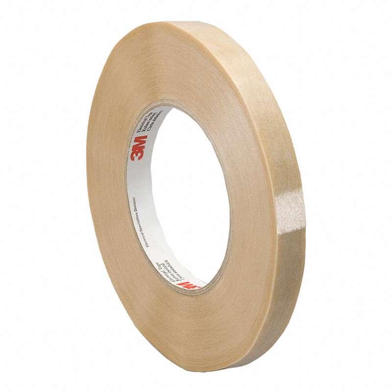 3M Electrical Tape 44, Tan/Translucent, 0.500in x 90yds, 1 roll minimum