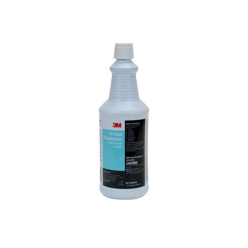 3M™ TB Quat Disinfectant Ready-To-Use Cleaner, Quart, 12/Case