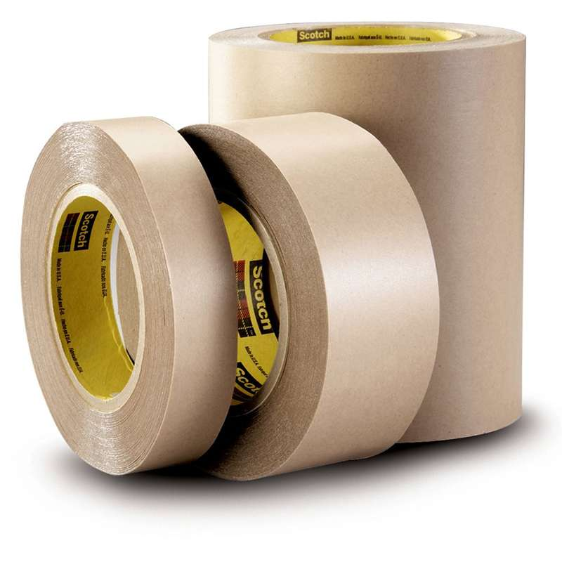 3M™ Double Coated Tape 9495LE, Clear, 3/4 in x 60 yd, 6.7 mil, 48 rolls per case