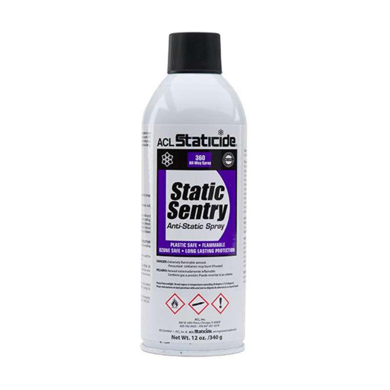 Staticide™ Static Sentry Charge Generation Eliminator, 12 oz. Aerosol