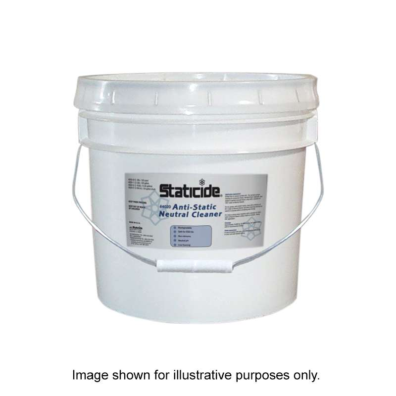 Staticide Acrylic Floor Cleaner, 5 gallon