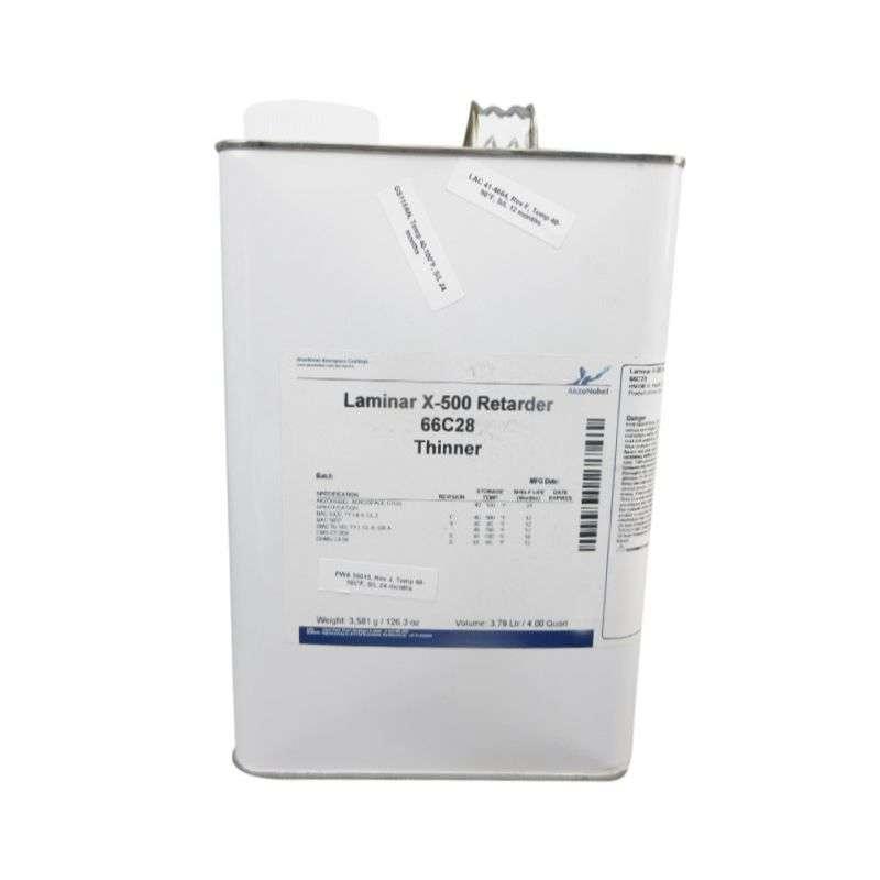 66C28 Laminar® X-500 Thinner, Clear, 1 Gallon