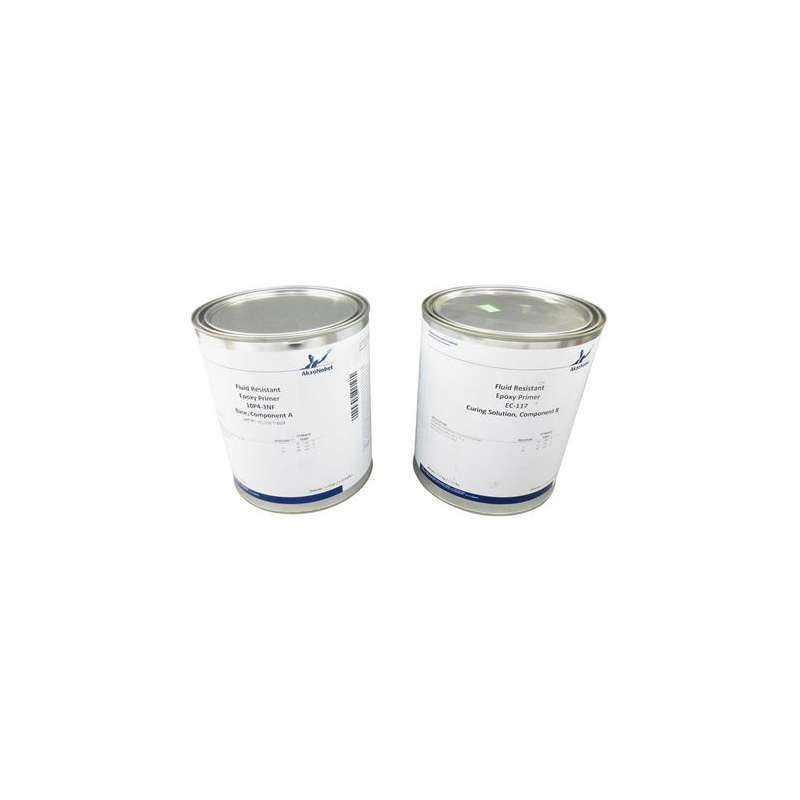 10P4-3NF Structural Corrosion and Chemical Resistant Epoxy Primer w/ EC-117 Curing Solution, Yellow, 2 Gallon Kit