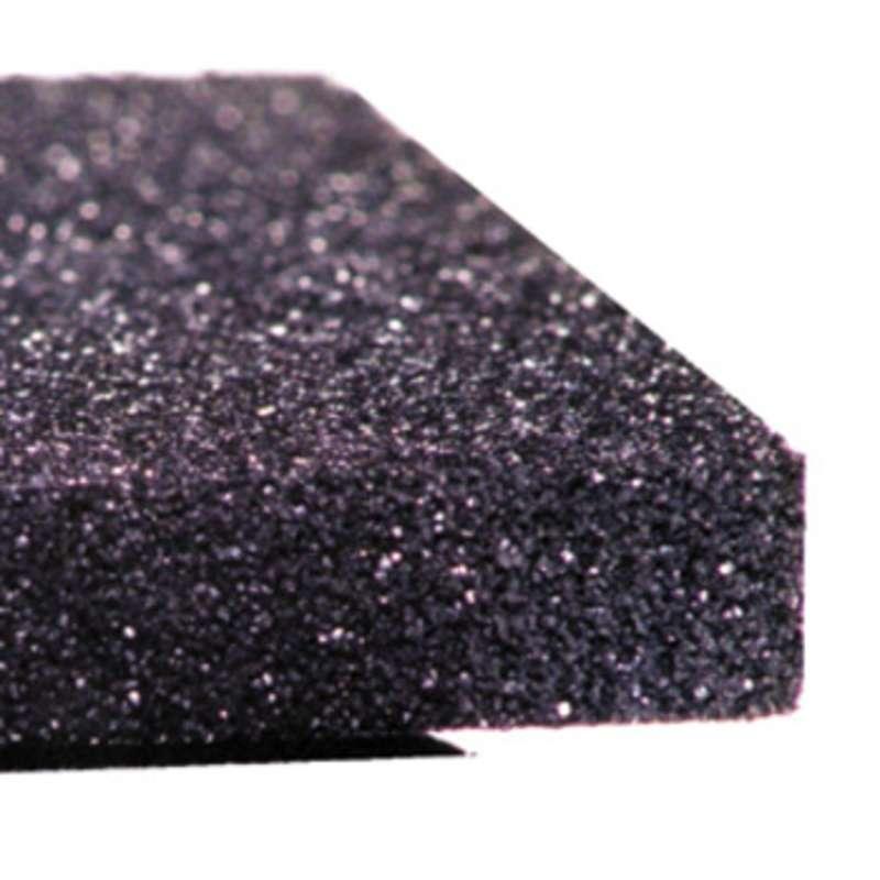 "Conductive Polyethylene Black Foam, High Density, 3/8 x 29 x 35"""