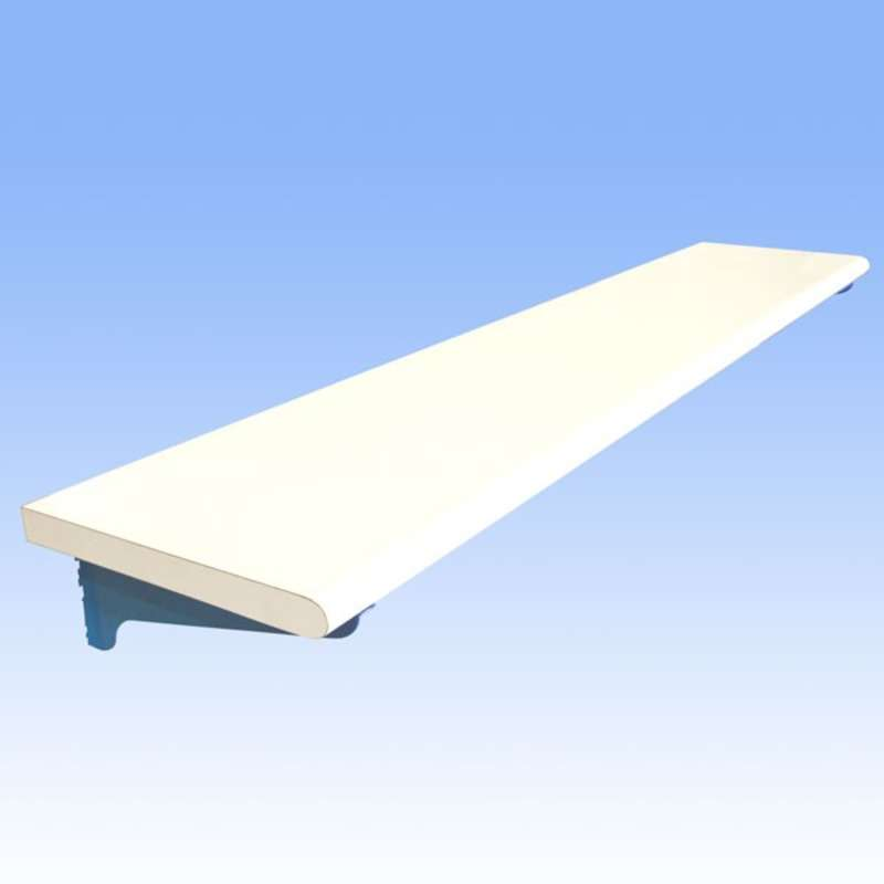"""Non-ESD Adjustable Laminate Shelf for All-Spec Heavy Duty Benches, 18 x 120"""""""