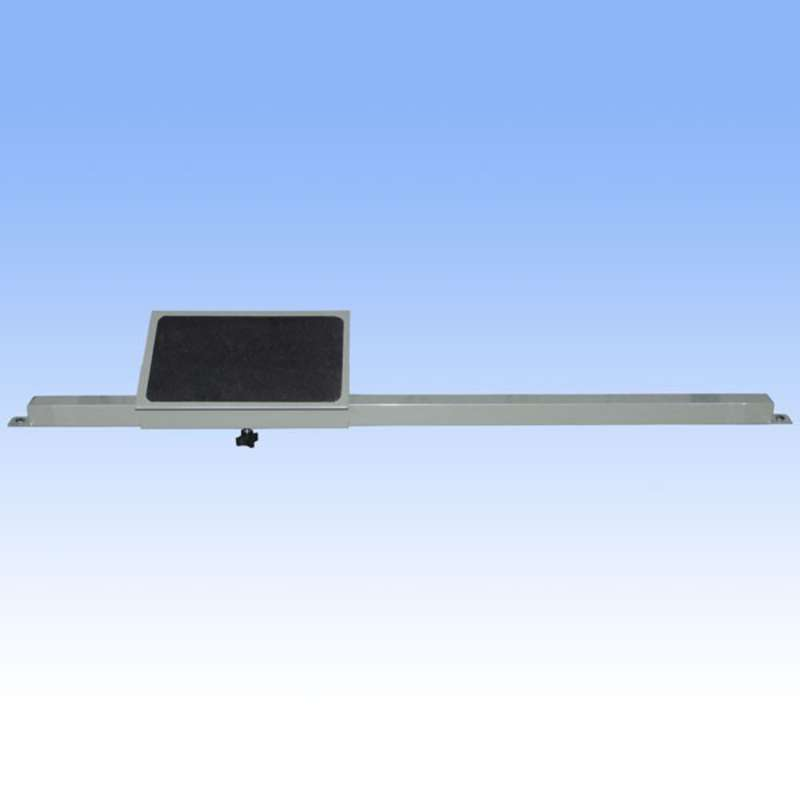 """Ergonomic Adjustable Footrest for 48"""" and 96"""" All-Spec Heavy-Duty Chemical Resistant Benches, Grey"""