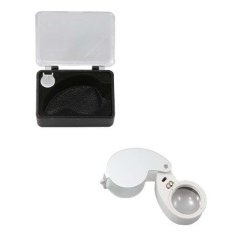 Multi-Purpose LED Eye Loupe with 40X Magnification and 25mm Lens Diameter