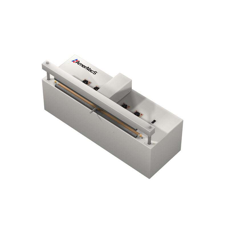 """Self Contained Retractable Nozzle Vacuum Sealer, 20"""" with Gas Purge and Air Compressor"""