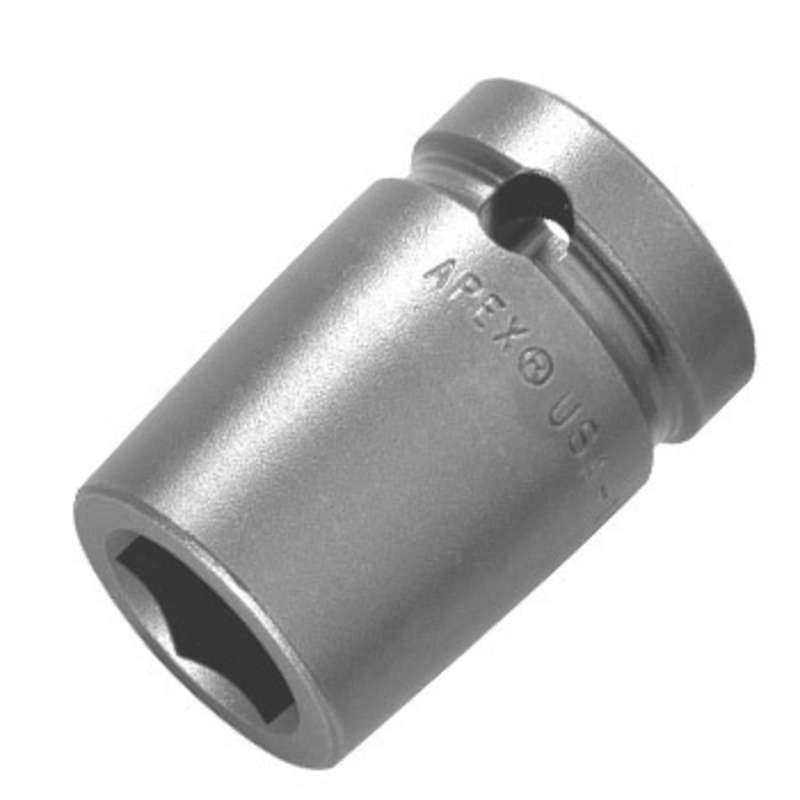 """6 Point SAE Socket for 1/2"""" Square Drive, 13/16 x 1-1/2"""" Long"""