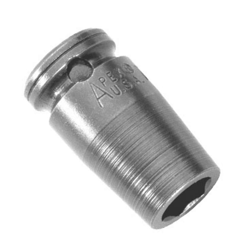 """6 Point Metric Socket for 1/2"""" Square Drive, 15mm x 1-1/2"""" Long"""