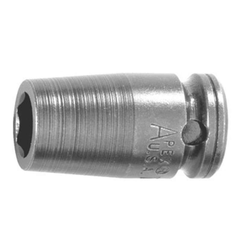 """6 Point Metric Socket for 3/8"""" Square Drive, 8mm x 1-1/4"""" Long"""