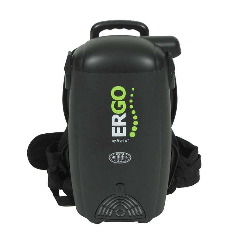 ERGO Backpack Vacuum / Blower with 0.3 Micron HEPA Filter Cartridge, 99.97% Efficiency