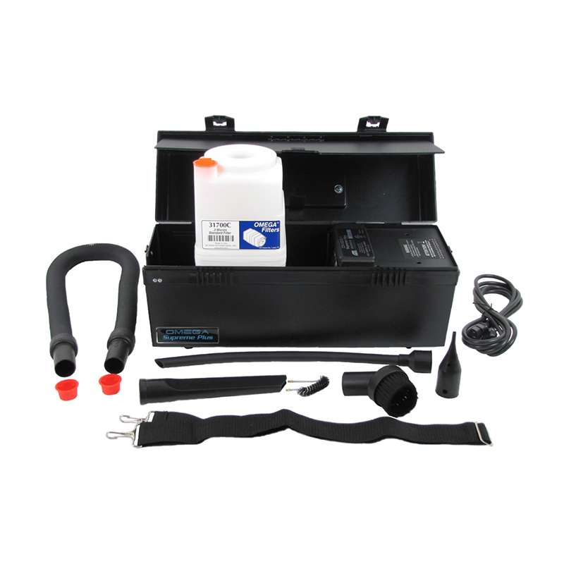 ESD-Safe Omega Supreme Plus Vacuum, 110V, with 0.3 Micron Standard Filter Cartridge