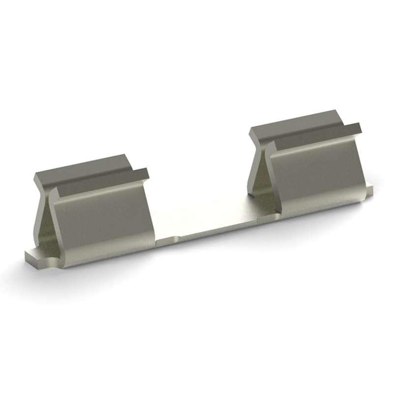 SMT Micro Miniature RFI Shield Clip, 10,000 per Reel, Postplated matte tin RoHs