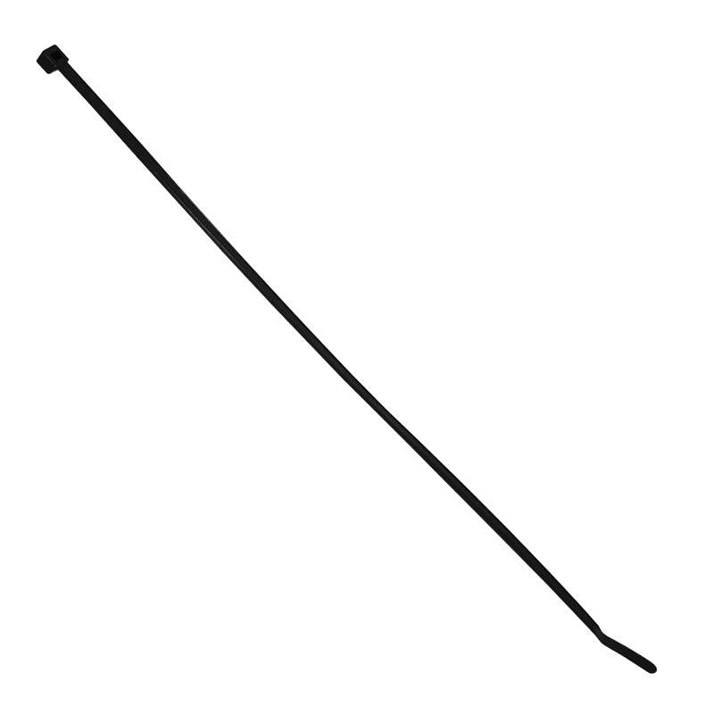 Standard Cable Tie, 7.5 in, Black, Weather resistant 50lb tensile strength, 1M/BG