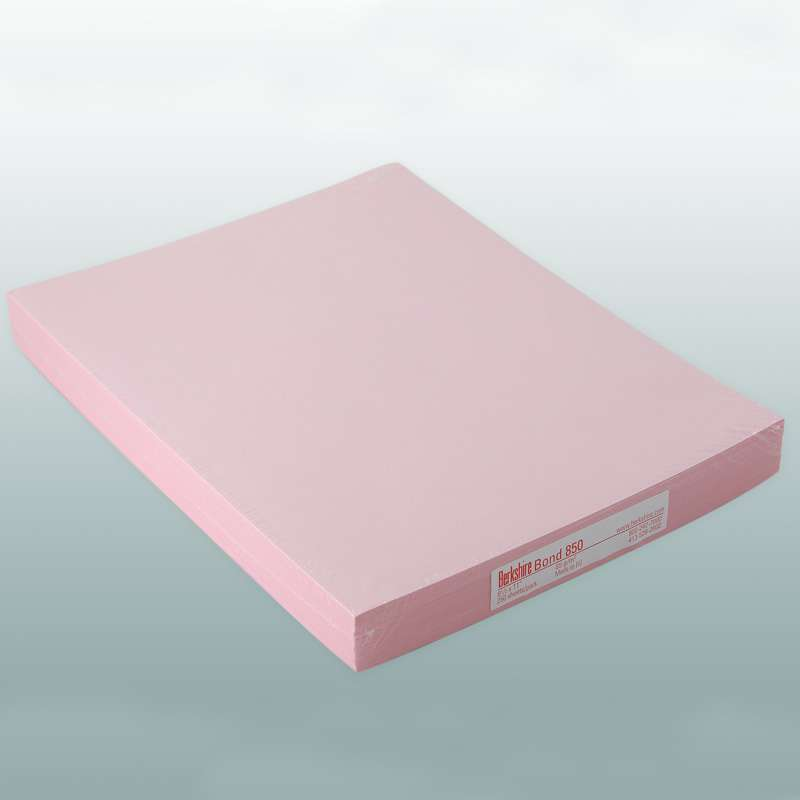 """BCR? Bond 850 Cleanroom Copy Paper, 8-1/2 x 11"""", Pink, 250 Sheet per Package"""