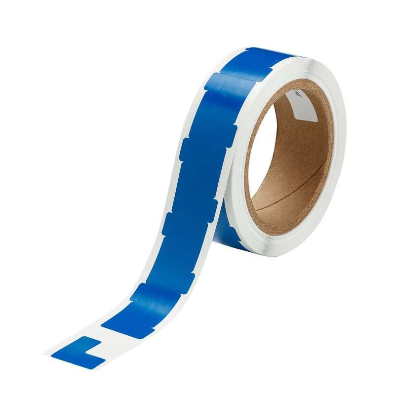 T-Shape Blue Vinyl Corner Marking Tape