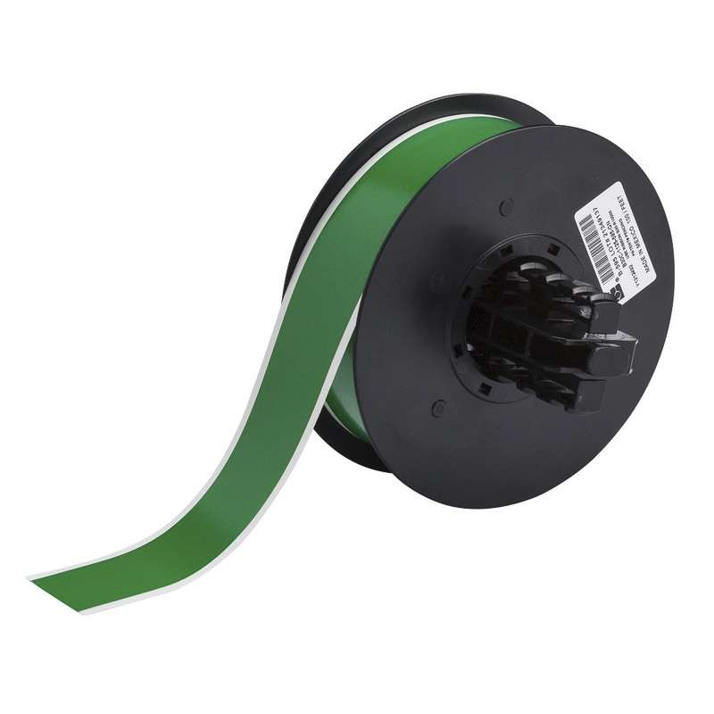 """BBP™31 Tape, Indoor/Outdoor, 1.125"""" x 100', Vinyl Film with Permanent Adhesive, 1/Roll, Green Gloss"""