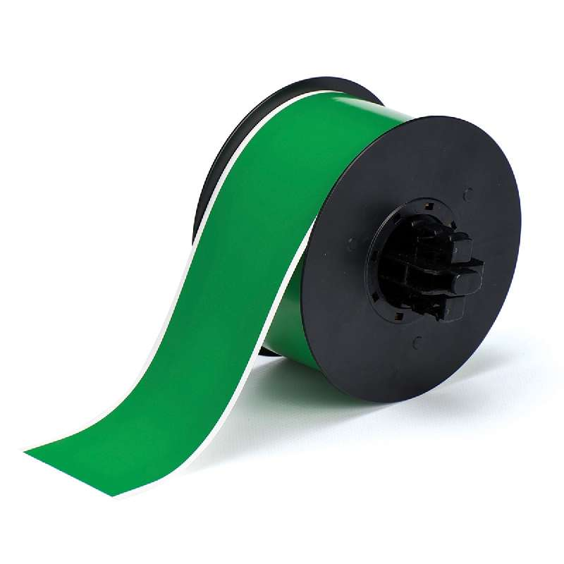"BBP™31 Tape, Indoor/Outdoor, 2.25"" x 100', Vinyl Film with Permanent Adhesive, 1/ Roll, Green"