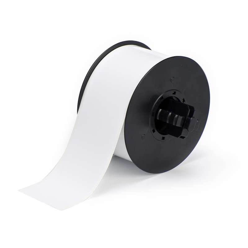 Non-adhesive material in a continuous cut-to-length roll format