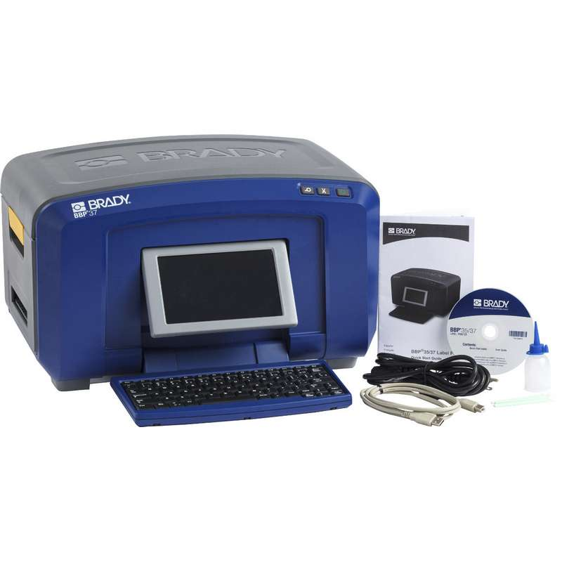BBP37 Sign and Label Printer, Monochrome + Color, with X/Y Cutter