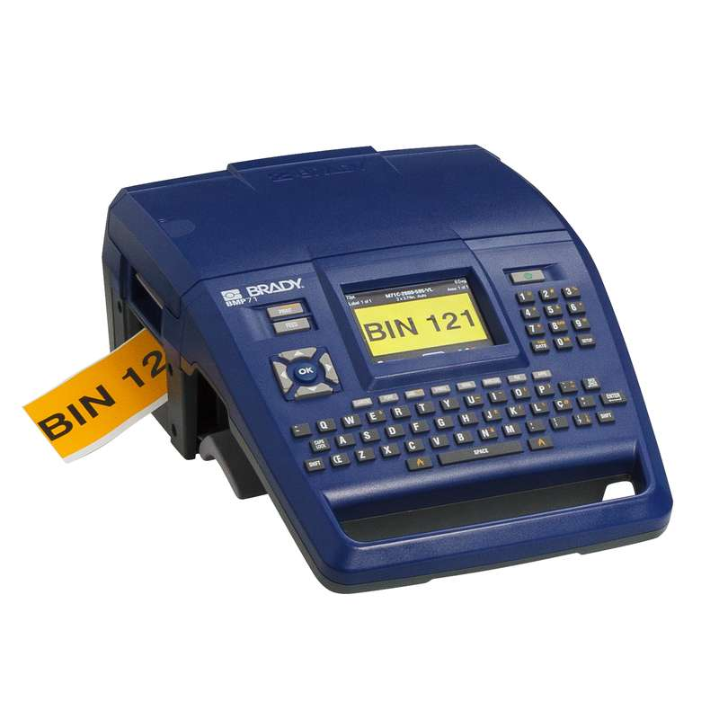 BMP71 Portable Label Printer with AC Adapter and Two Year Warranty