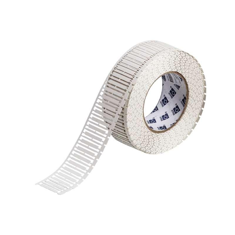 "DuraSleeve™ Polypropylene Thermal Transfer Printer Inserts, Matte White, 1.181"" x .163"", 2500 per Roll"