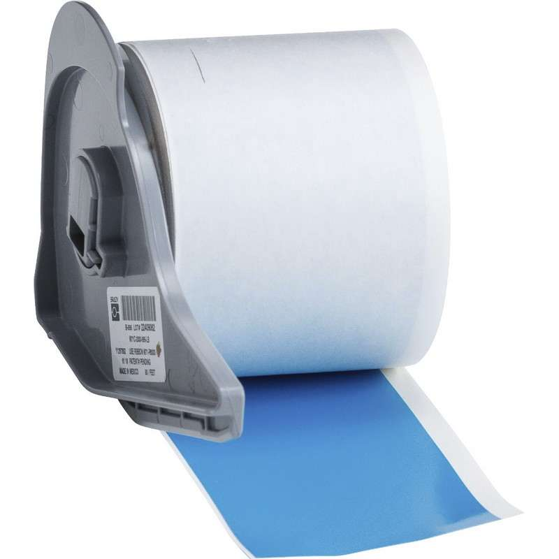 """BMP®71 Series Vinyl Film Indoor/Outdoor Tape with Permanent Adhesive, Light Blue, 2"""" x 50', 1 Each"""