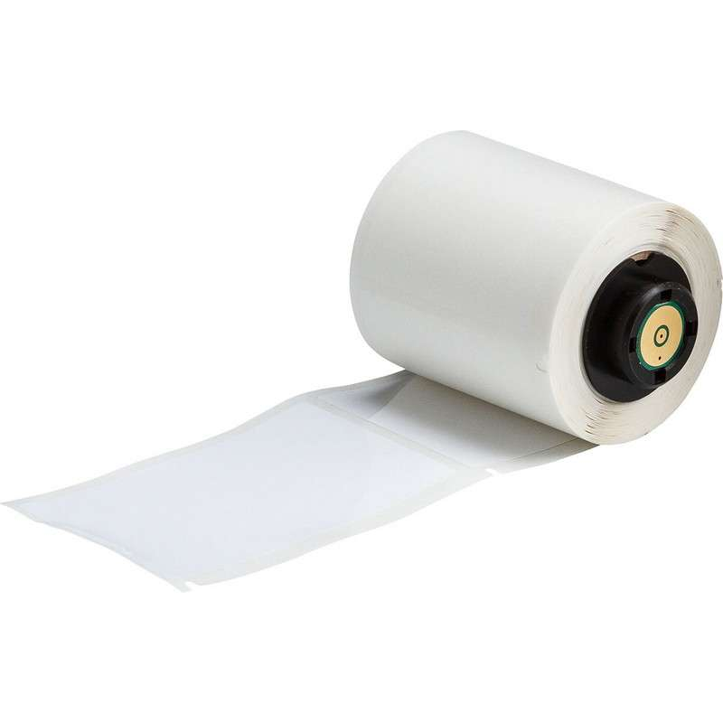 ToughBond Glossy Polyester Thermal Transfer Label, B-483, 1.9 x 3 in, 100 Labels per Roll