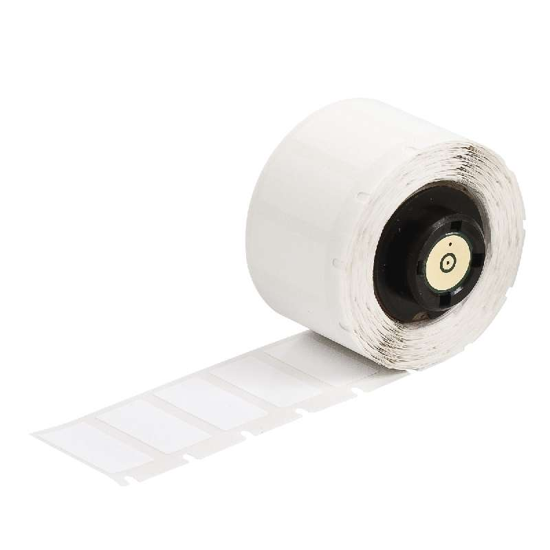 """TLS 2200™/TLS PC Link® Ultra Aggressive Polyester Labels, 1"""" x 50', White Gloss, 1 per Roll"""
