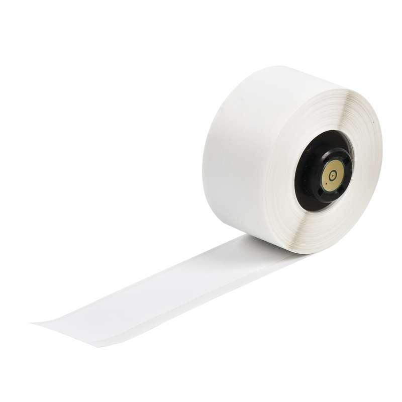 "TLS 2200™/TLS PC Link® Permanent Vinyl Labels, 1/2"" x 50', Matte White, 1 per Roll"