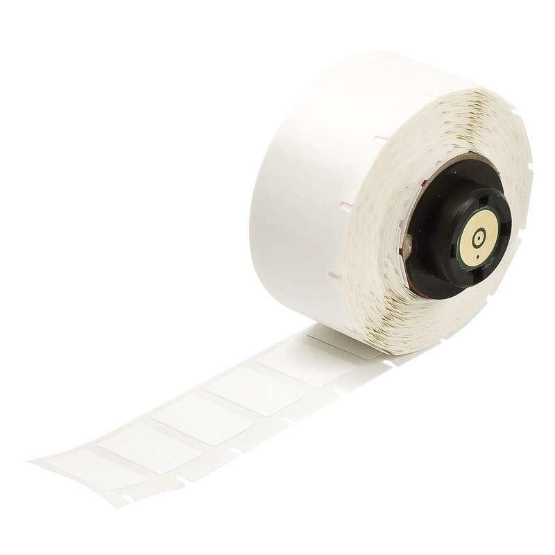 "TLS 2200?/TLS PC Link® Nylon Cloth Labels, 1/2"" x 3/4"", Matte White, 500 per Roll"