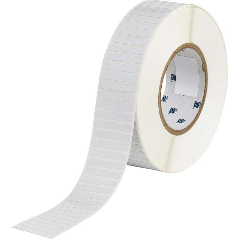 """3"""" Core Series Thermal Transfer Polyimide Labels, B-724, Amber, 0.25 x 1.5 in, 10000 Labels per Roll"""