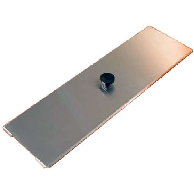 """Stainless Steel Cover, 21 x 6-1/2 x 1/2"""", for Use with PC620 2.75 Gallon Cleaner Tank"""