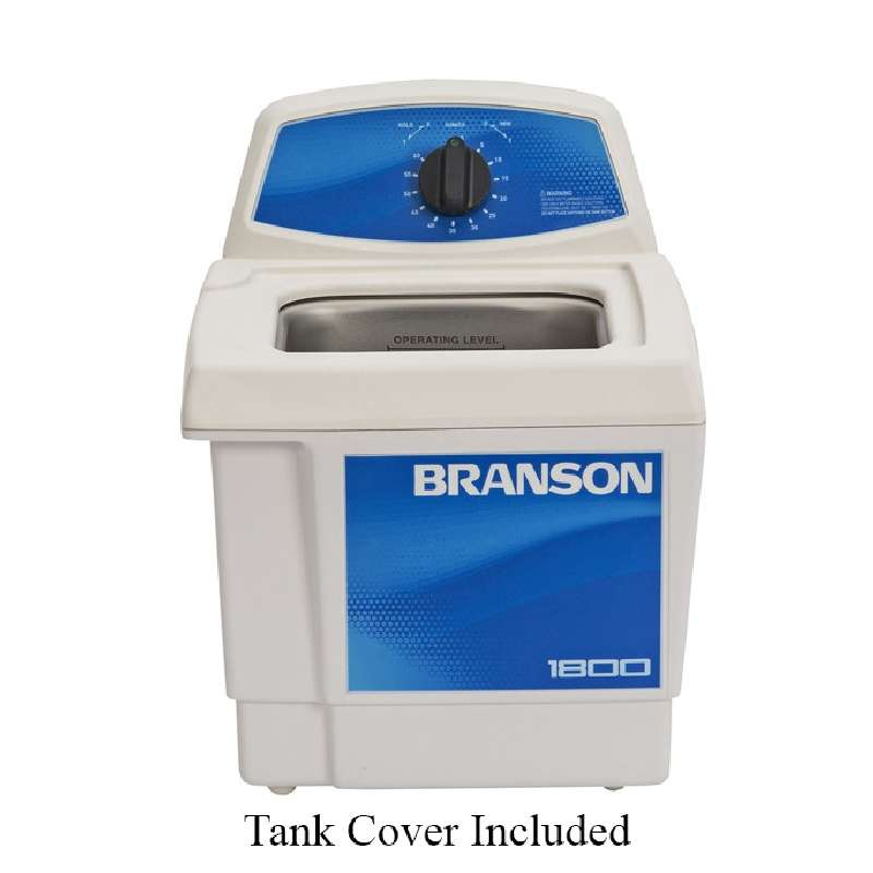 M1800 Ultrasonic Cleaner with Mechanical Timer and Tank Capacity of 1/2 Gallon, 220/230/240 VAC