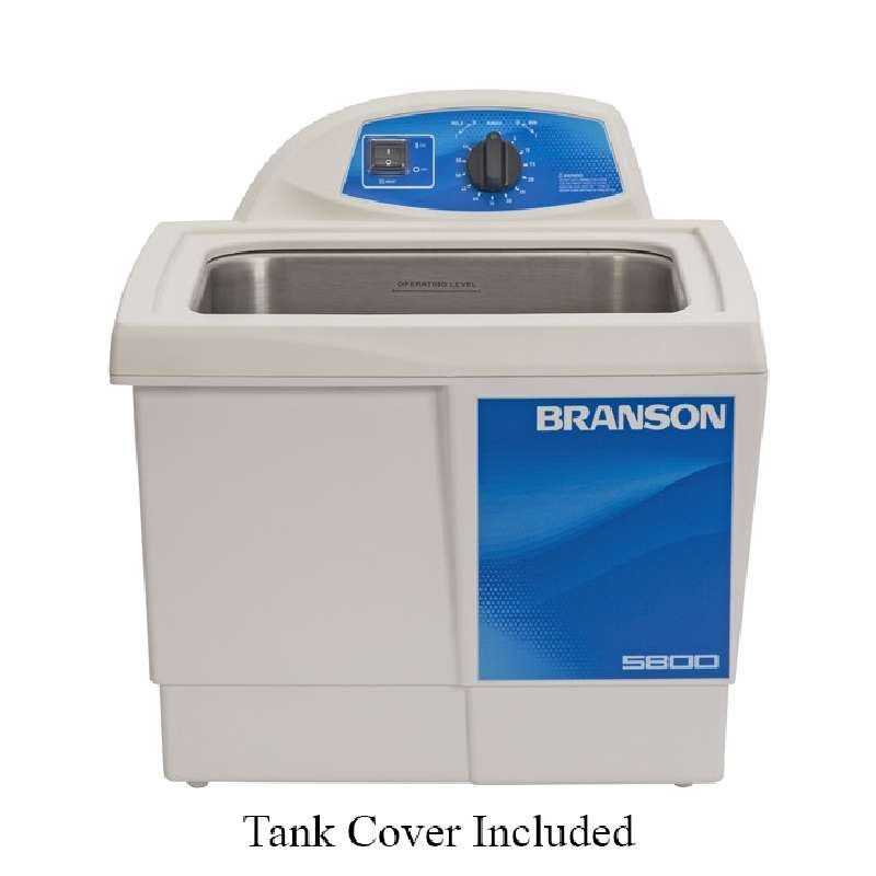 M5800H Ultrasonic Cleaner with Mechanical Timer and Heated Tank, Capacity of 2-1/2 Gallons