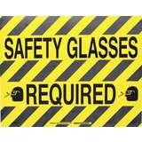 14 IN X18 IN B534FS BK/YL SAFETY GLASSES REQ