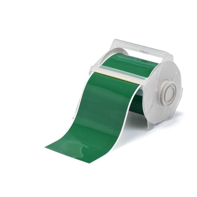 """GlobalMark® Indoor/Outdoor Grade Vinyl Tape, 4"""" x 100', Green, 1 Roll"""