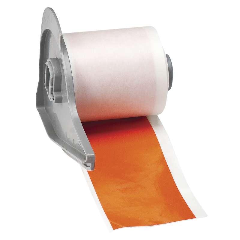 "BMP®71 Series Vinyl Film Indoor/Outdoor Tape with Permanent Adhesive, Orange, 2"" x 50', 1 Each"
