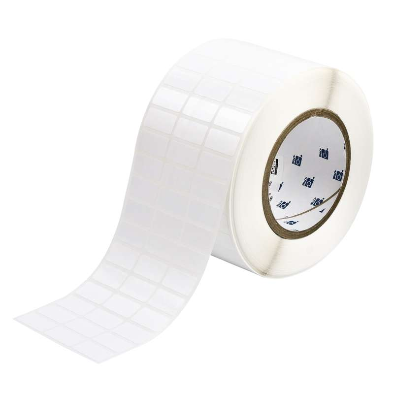 """3"""" Core Series Tamper-Resistant Thermal Transfer Labels, White, B-351, 0.5 x 1 in, 10000 Labels per Roll"""