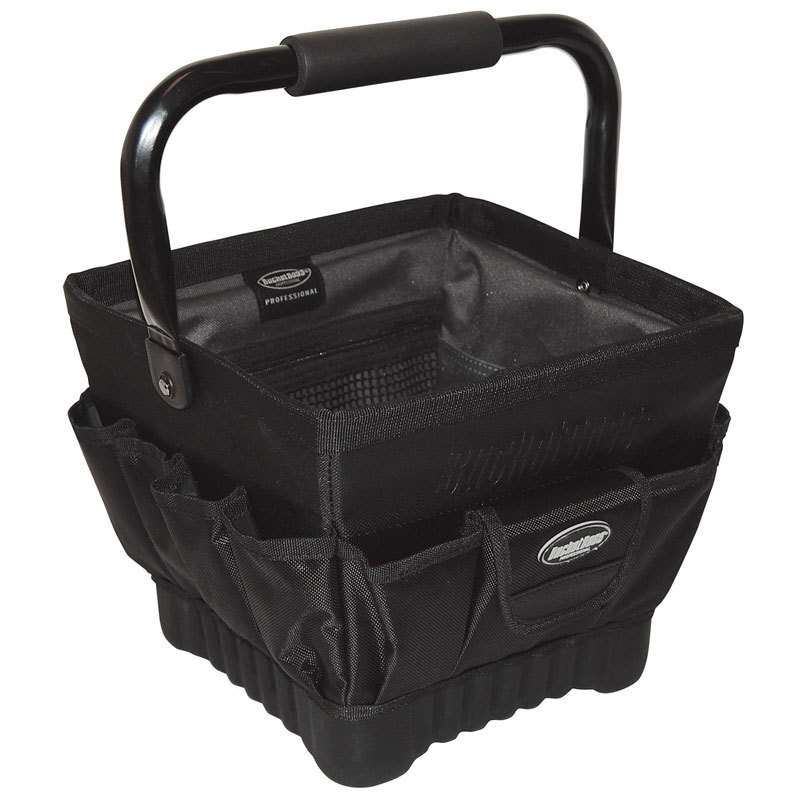 """Prooval 11 Tool Tote with 19 Pockets, 11"""" x 11"""" x 10"""""""