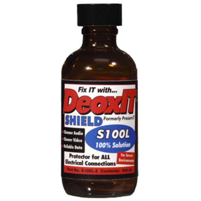 DeoxIT® Shield Flushing Contact and Connector Protector Bottle, 59 ml